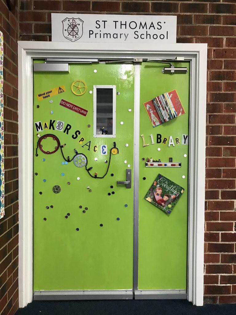 Makerspace Door